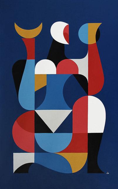 Remed, 'Reflet, Devine, Demain', 2019, David Bloch Gallery
