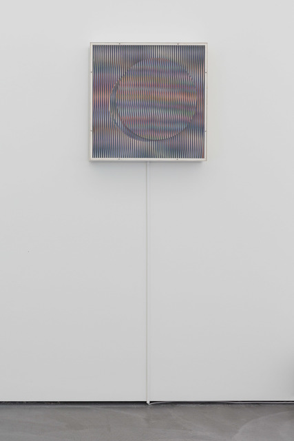 , 'Chromointerference V7,' 1970, von Bartha