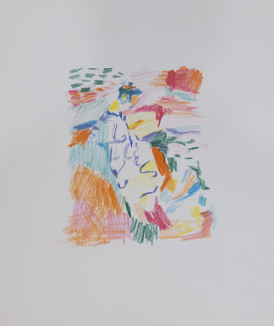 Aukse Miliukaite, 'Madam Matisse', 2015, Drawing, Collage or other Work on Paper, Coloured Pencil, The Rooster Gallery