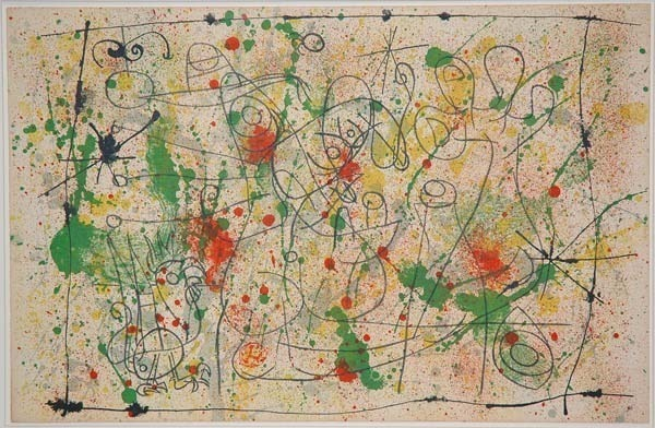 Joan Miró, 'I. Ubu Roi: Frontispiece, Naissance d'Ubu', 1966, Print, Lithograph, Contessa Gallery