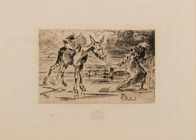 , 'L'Ane et la Vielle,' ca. 1875, Childs Gallery