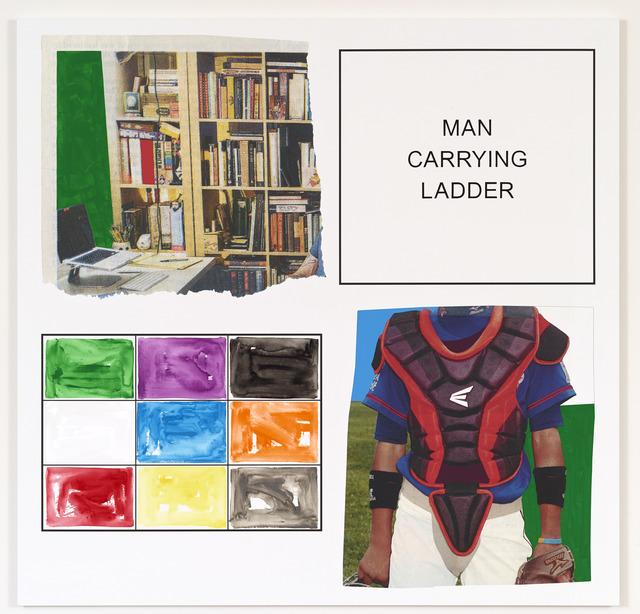 John Baldessari, 'Storyboard (In 4 Parts): Man Carrying Ladder', 2013, Marian Goodman Gallery