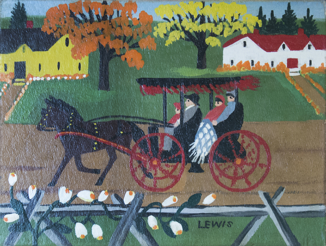 , 'Autumn Carriage Ride,' 1956, Oeno Gallery