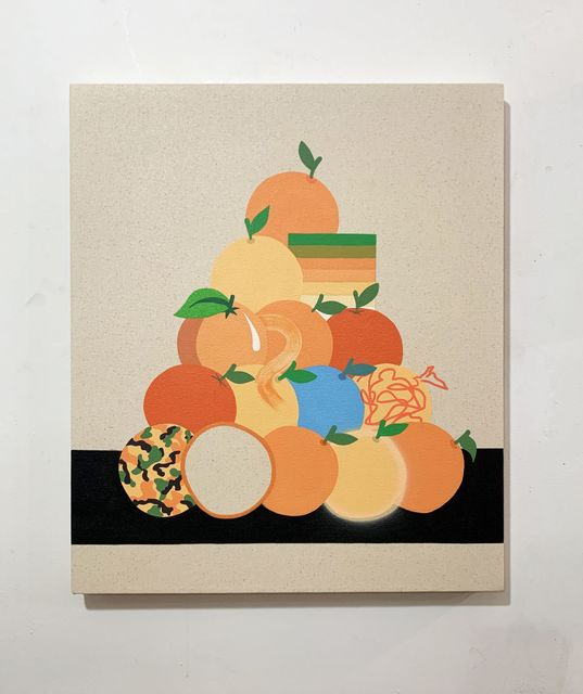Stephen D'Onofrio, 'Still Life with Stacked Oranges ', 2019, Galleri Urbane