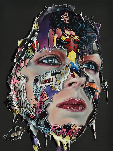 , 'La Cage; tous les voyages laissent des traces sur nous,' 2018, Galerie C.O.A