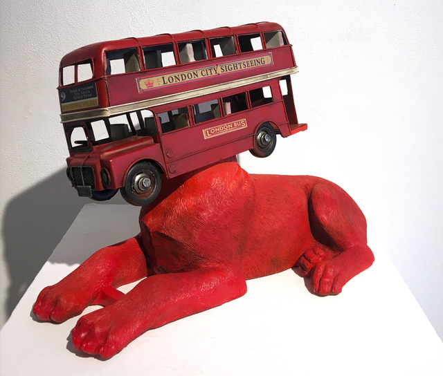 , 'The Bus to Barking,' 2019, Woolff Gallery
