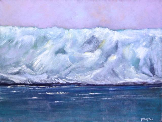 , 'Hubbard Glacier II,' 2008, Atrium Gallery