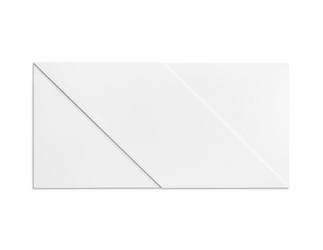 , 'Dubbel vierkant met diagonalen,' 1968, BorzoGallery
