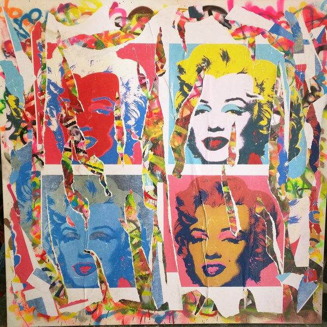 , 'Marilyn Monroe Warhol,' 2016, Impact Art Gallery
