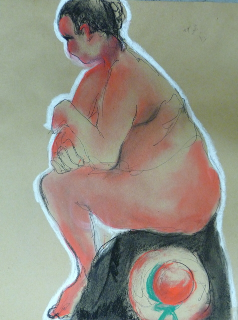 , 'Sitting Female,' 2014, Gallery 4 West