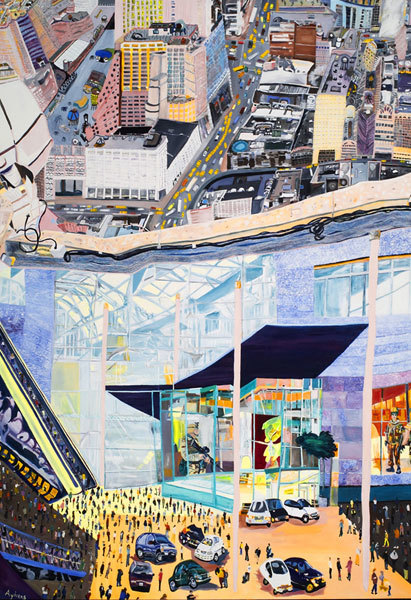 , 'Urban Strata,' 2005, Mindy Solomon Gallery