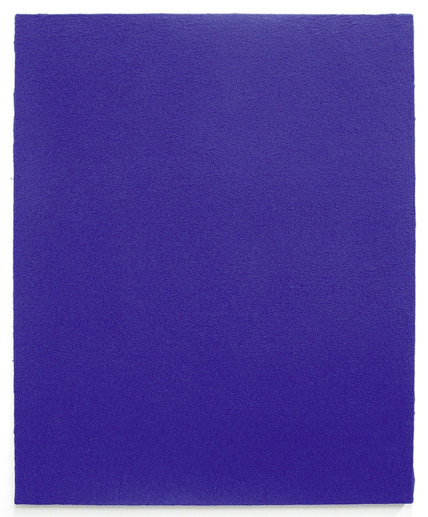 Yves Klein Monochrome Bleu Aj36 Montrealeast