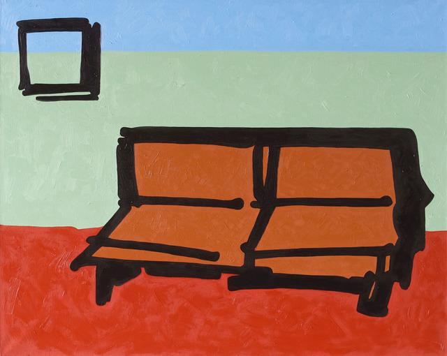 , 'Sofa,' 2014, Gridchinhall