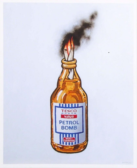 Banksy, 'Petrol Bomb', 2011, Lougher Contemporary Auction