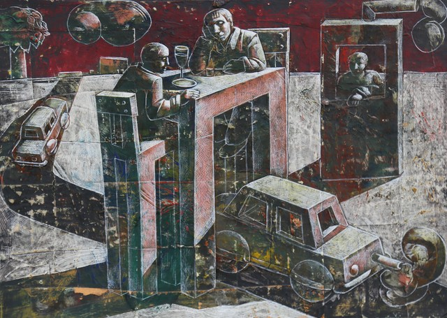 , 'The tunnel,' 2014, Galeria Kalo