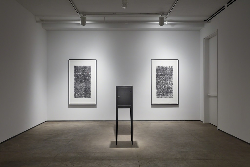 Installation view of Kris Martin: ?DO GEESE SEE GOD? at Sean Kelly, New York March 21 - April 27, 2019 Photography: Jason Wyche, New York Courtesy: Sean Kelly, New York