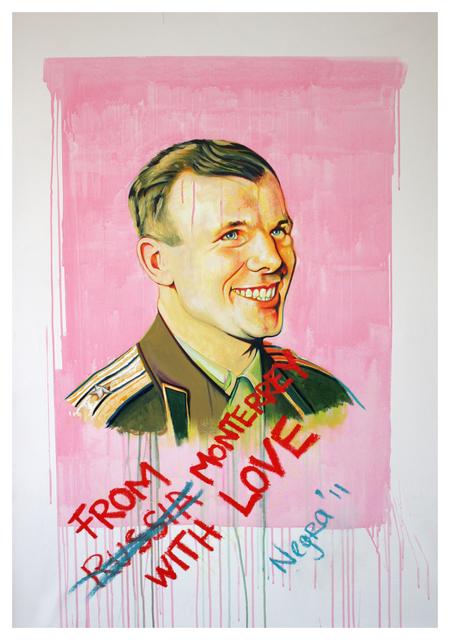 , '110308 - Saludos a Gagarin /Greetings to Gagarin,' 2011, Galeria Enrique Guerrero