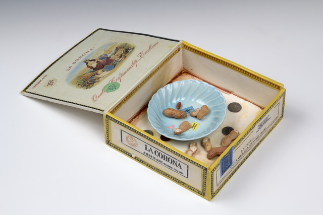 , 'Cigar Box with Blue Bowl,' 2015, Seager Gray Gallery