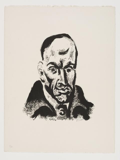 Pablo Picasso, 'Portrait de Góngora', 1947, Lithograph printed in black, Frederick Mulder