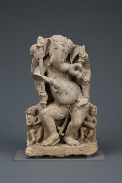 , 'Six-Armed Dancing God Ganesha,' 1000s–1100s, Denver Art Museum