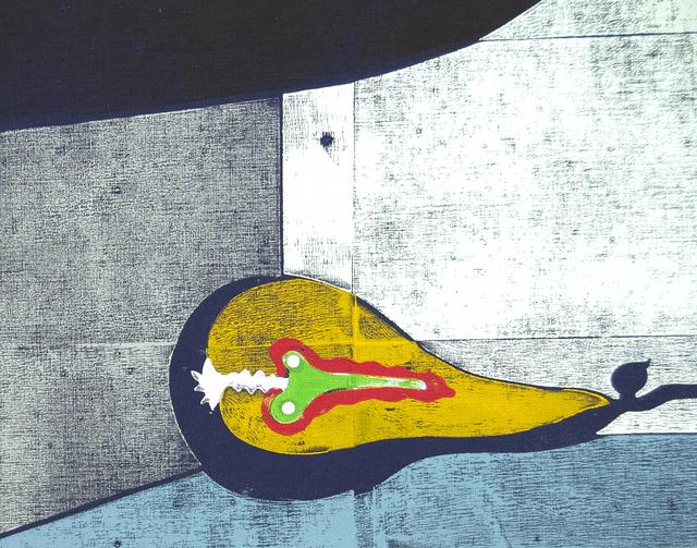 Gert & Uwe Tobias, 'Untitled (GUT/2053)', 2012, Print, Colored woodcut on canvas, Heather James Fine Art
