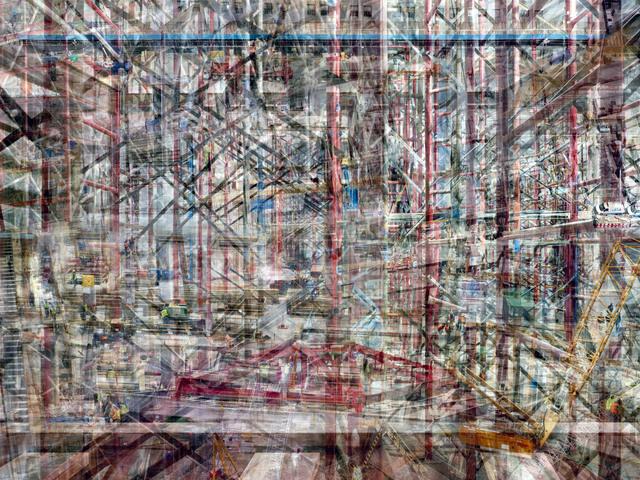 , 'W.T.C: Concrete Abstract #4,' 2011-2013, Julie M Toronto