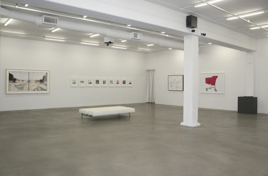 Install shot of Brian Howell's Survey