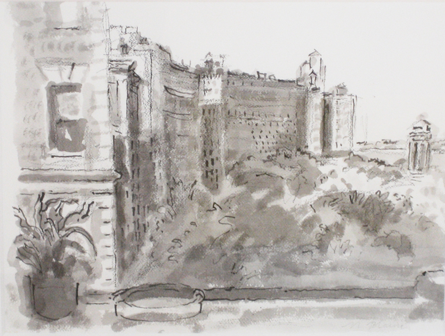 , 'View South, Riverside Park,' 1996, Reynolds Gallery
