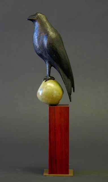 Peter Woytuk, 'Vertical Bird on Ebony wood', 2017, Argazzi Art