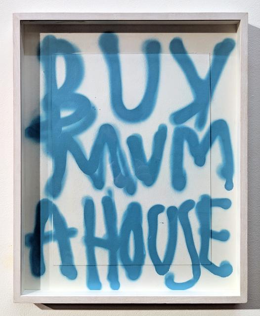 , 'Mummy's Boy Blue (Spray it loud edition),' 2018, Charlie Smith London