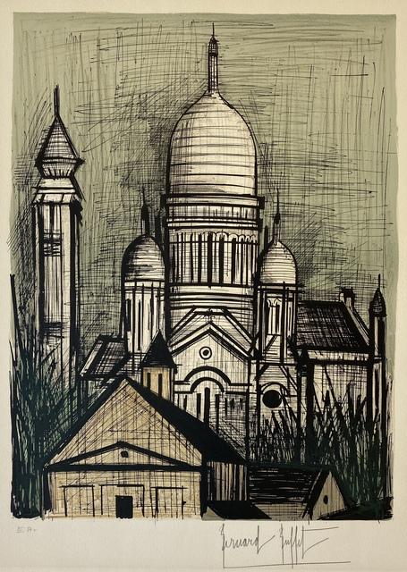 Bernard Buffet, 'Le Sacre-Coeur', 1965, Denis Bloch Fine Art
