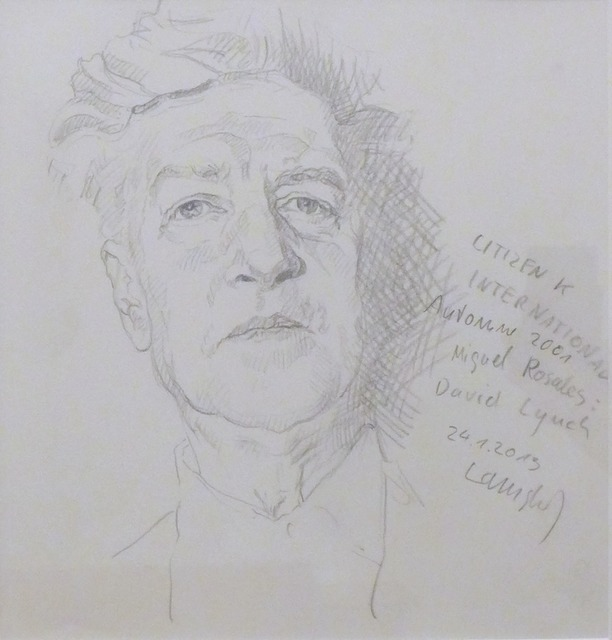 , 'David Lynch,' 2013, Christine König Galerie