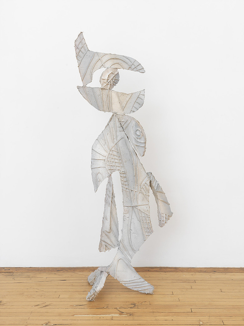 Johannes VanDerBeek, 'Greeter', 2017, Sculpture, Structo lite, paint, metal, Halsey McKay Gallery