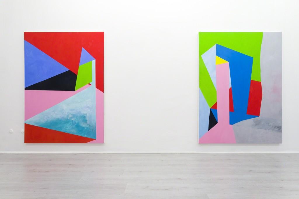 Nicola Melinelli, installation view 2017