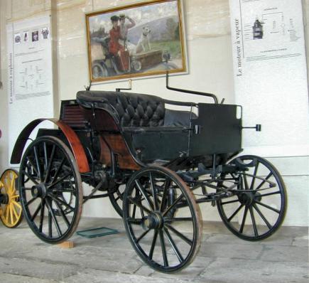 Panhard & Levassor, 'Phaëton automobile', 1891, Musées et domaine nationaux du palais de Compiègne