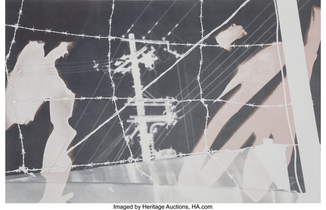 Robert Rauschenberg, 'Untitled (From the Bleacher Series)', 1990, Heritage Auctions