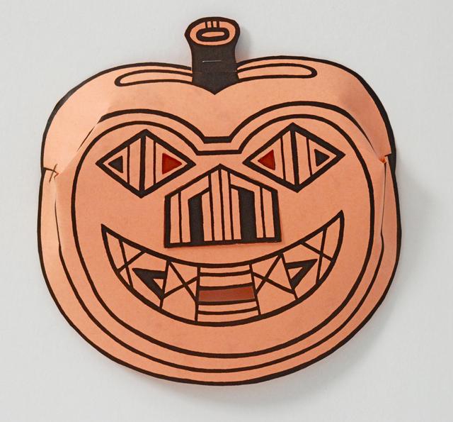 , 'Pumpkin Mask,' 1978, Sragow Gallery