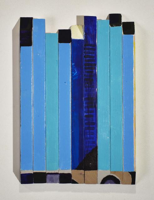 , 'Patient Blue Bar,' 2013, Zürcher, New York | Paris