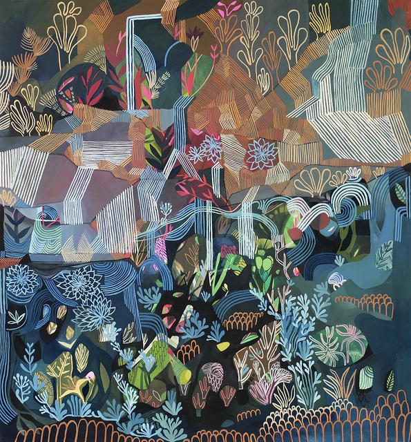 , 'Erosion and Regrowth,' 2017, Rebecca Hossack Art Gallery