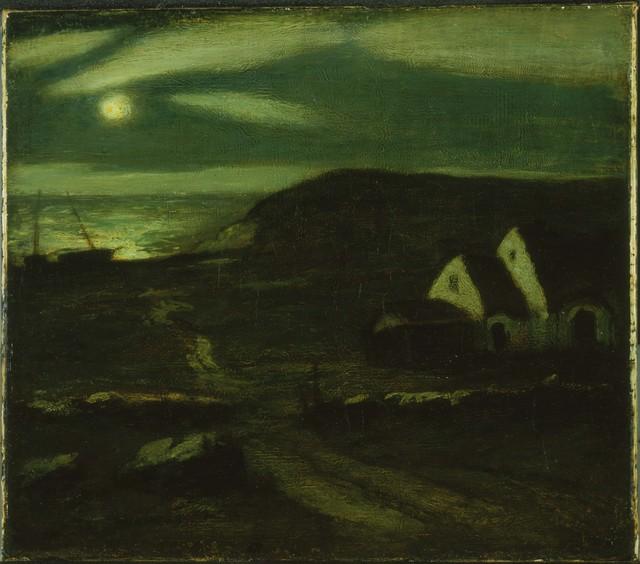 Albert Pinkham Ryder, 'Fisherman's Hut', Phillips Collection