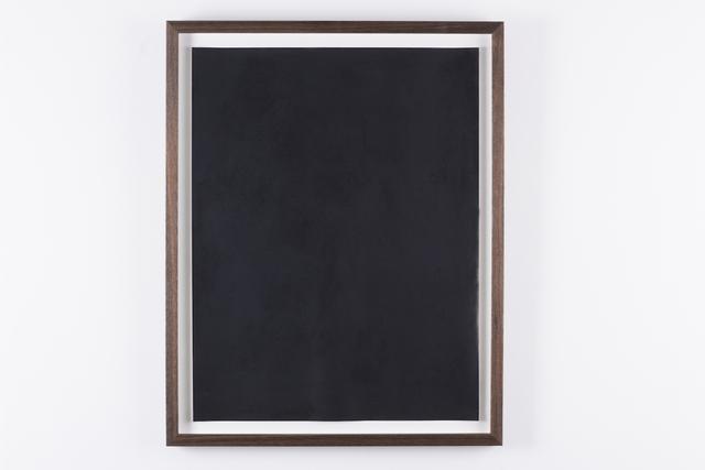 , 'Black Study IV,' 2016, Prosjektrom Normanns
