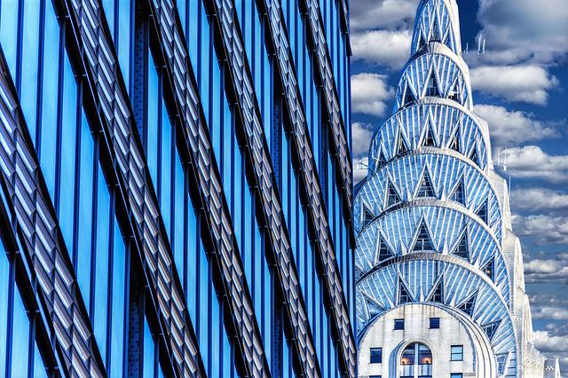 Mitchell Funk, 'Chrysler Building Abstraction', 2019, Robert Funk Fine Art