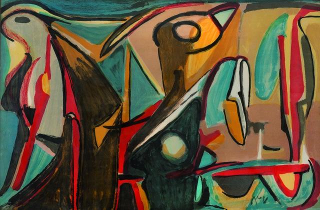 Bram van Velde, 'Composition Xxvi', 1980, Leclere