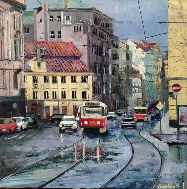 , 'Tram No. 2,' 2017, Light Space & Time
