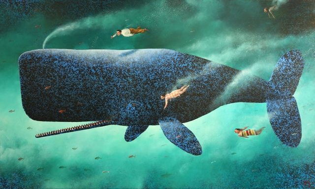 , 'Deep Waters (no. 21),' 2018, Rebecca Hossack Art Gallery