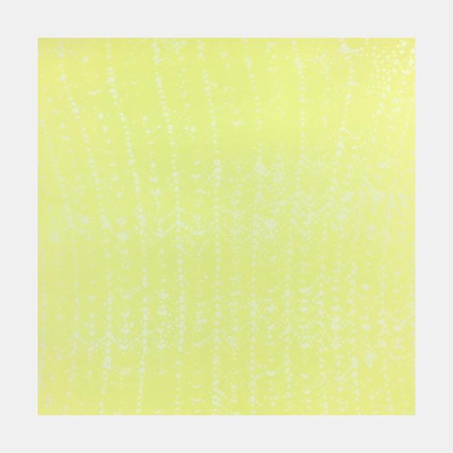 , 'Yellow Crochet Ripple,' 2015, Tandem Press