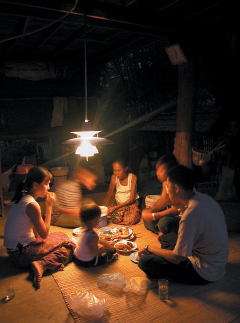 , 'Supercopy/BiogasPH5 Lamp Photo,' 2002, von Bartha