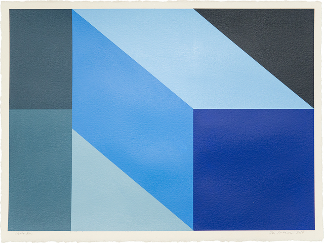 , 'Cobalt Blue,' 2018, Treason Gallery