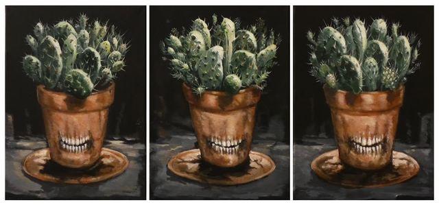 , 'Potes irónicos (Triptych) ,' 2016, Lyle O. Reitzel