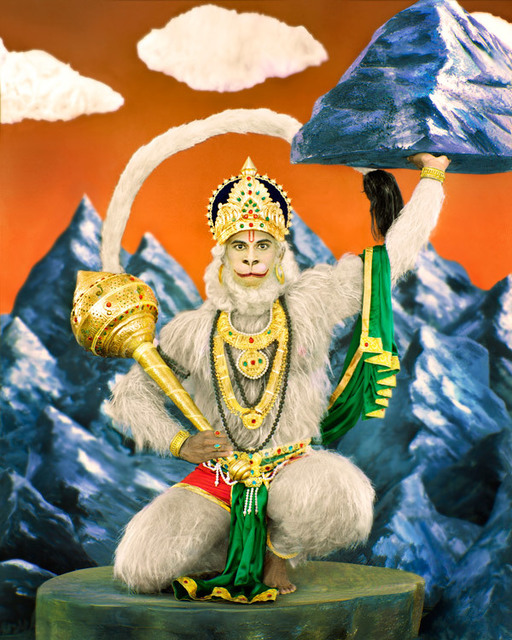 , 'Lord Hanuman,' , Wall Space Gallery